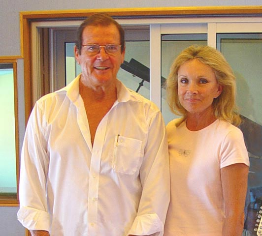 Lady and Sir Roger MOORE